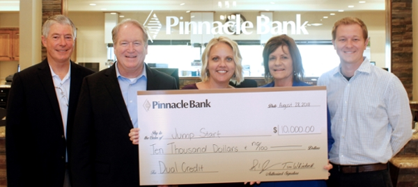 Jumpstart Pinnacle Bank