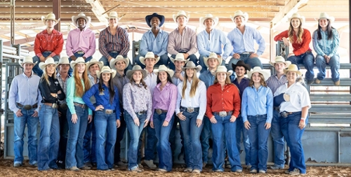 Hill College Men S Rodeo Team Placed Second At Trinity