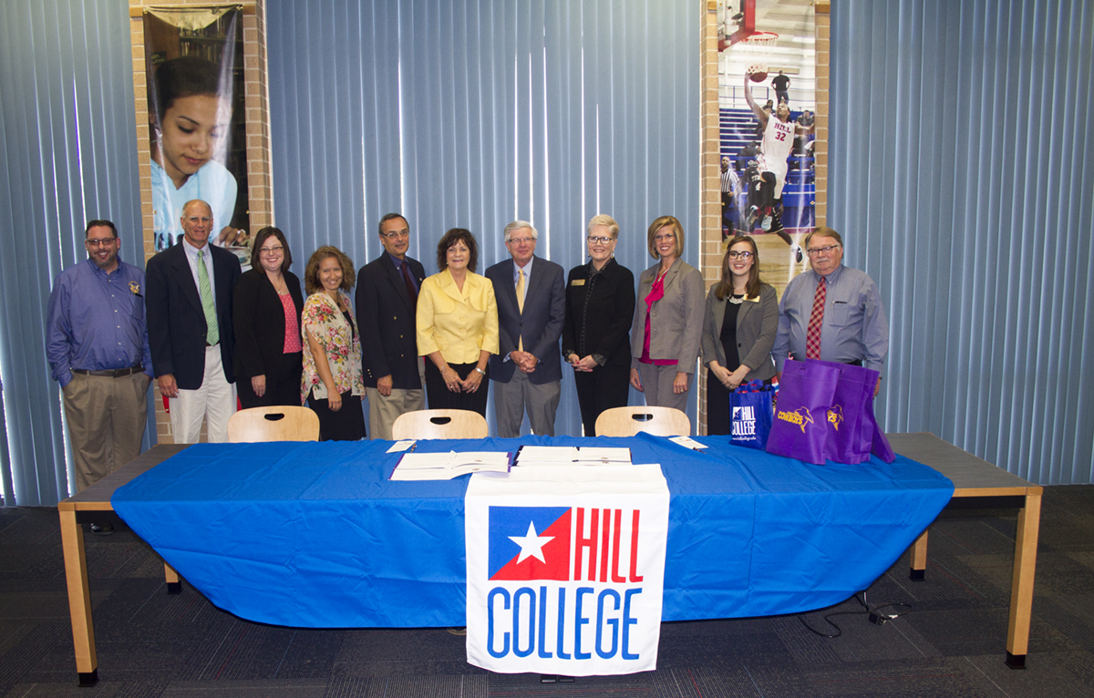 Hill College Signs Articulation Agreement With Hardin Simmons University