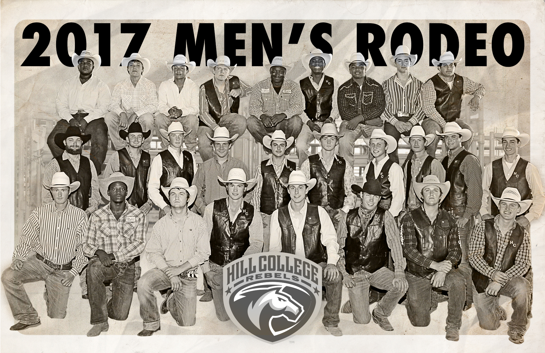 Hill College Men S Rodeo Team First In Regional Standings