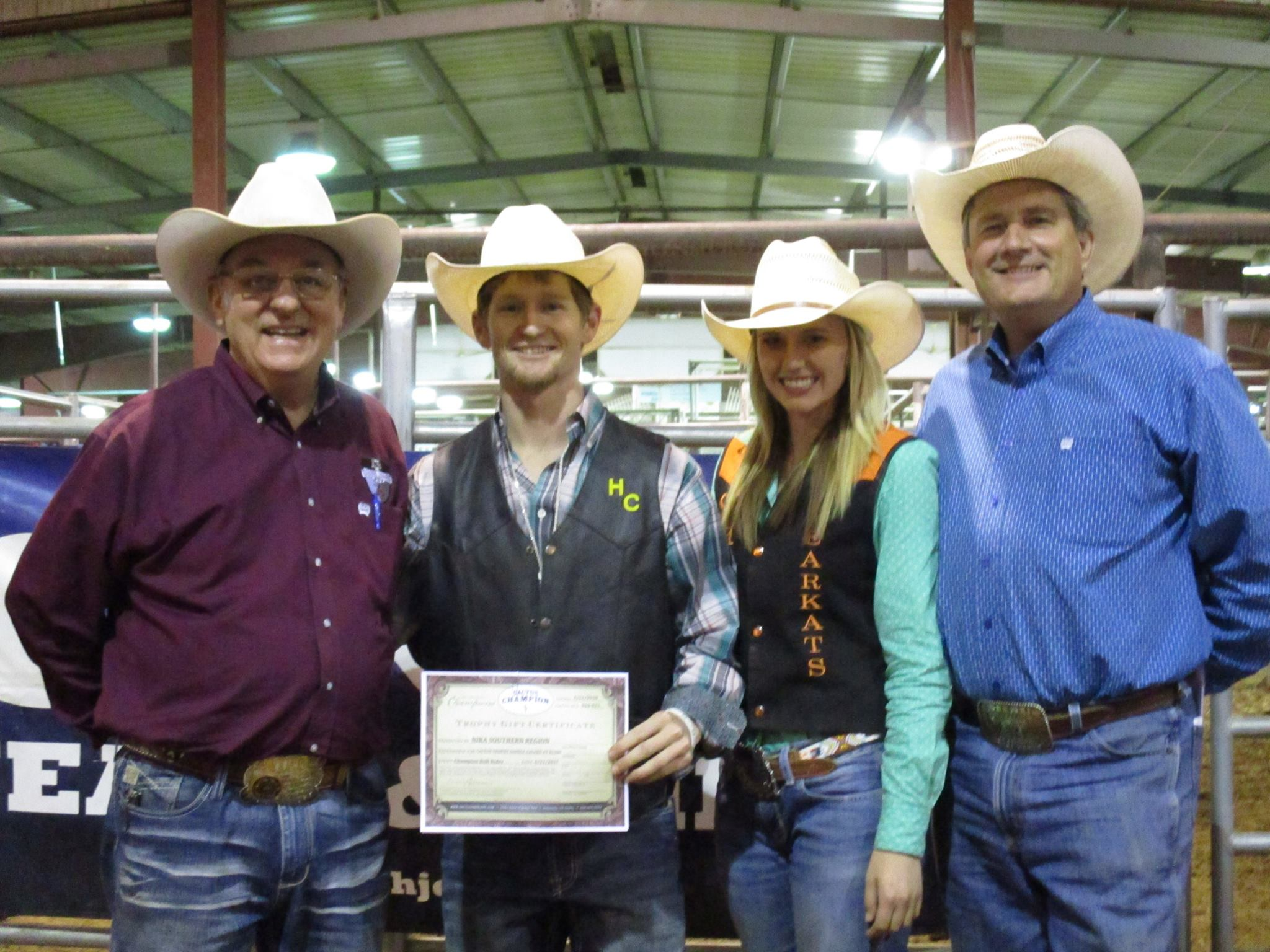 Hill College Mens Rodeo Team Named Southern Region